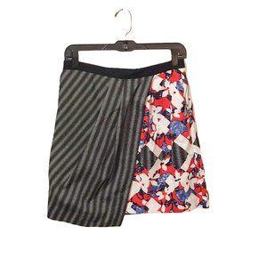 Peter Pilotto NWT Floral Wrap Mini Skirt
